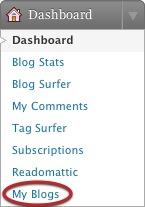 dashboard myblogs